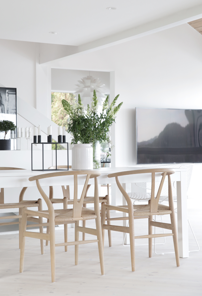 Wishbone chair by Hans J Wegner from Carl Hanesn Sn and Kubus