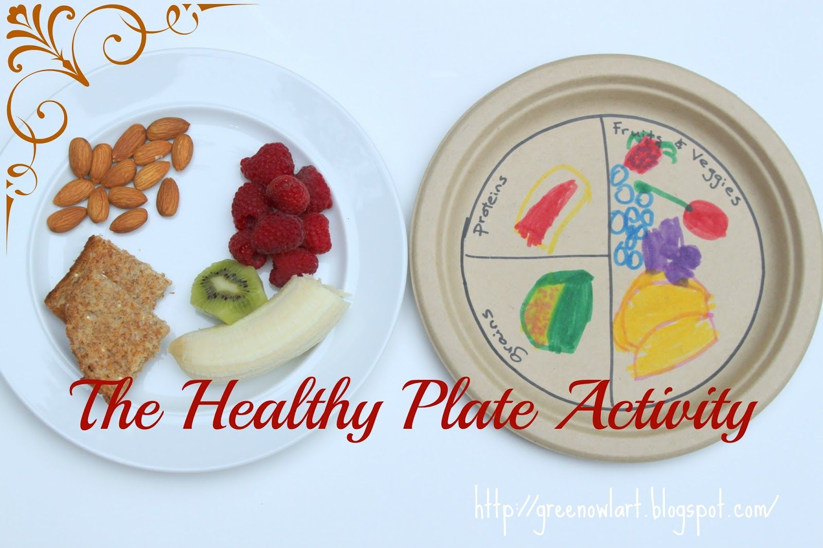 Healthy Food Plate Craft