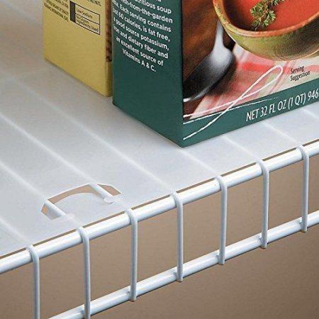 Shelf Liner For Wire Shelving 12 Inches Deep 10 Foot Roll Walmart Com Wire Shelf Liner Shelf Liner Wire Shelving
