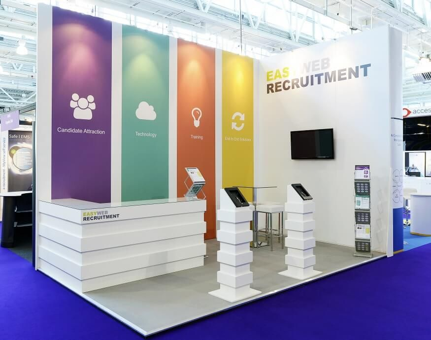 Exhibition Stall Banner : Unusual exhibition stand design google search