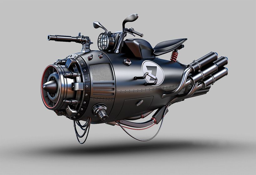 impossible technology for retro future vehicles by jomar machado