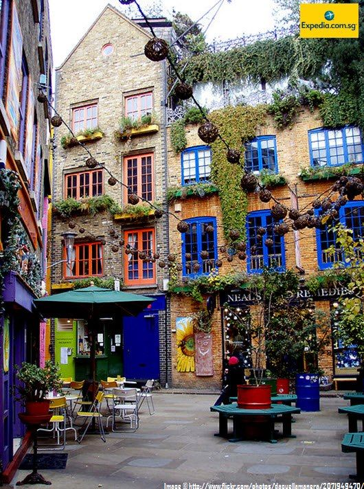 London, Covent Garden & The Stand, Neal's Yard