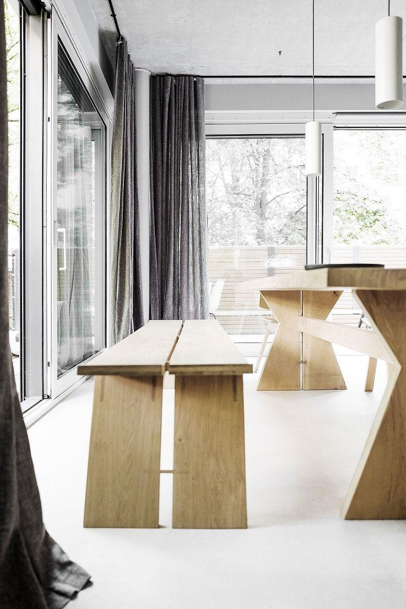 Loft bedroom regulations  Berlin Home by Loft Kolasinski Studio  Photographer Karolina Bak
