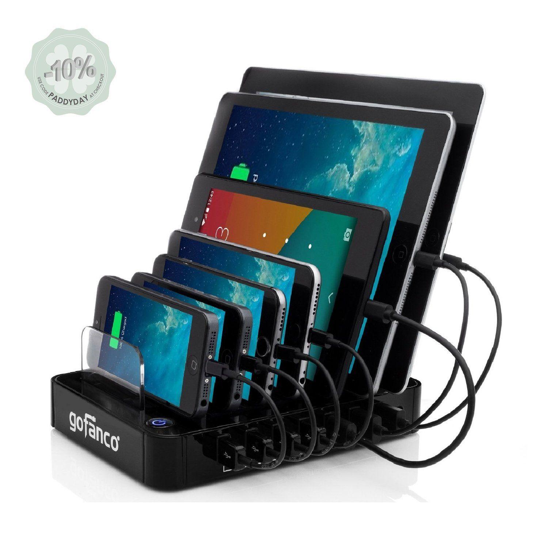 Amazon.com: Gofanco® 7-Port Desktop USB Charging Station