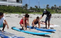 Surf Lessons In Cocoa Beach With Surf Lessons Florida Home Page With Images Cocoa Beach Beach Florida