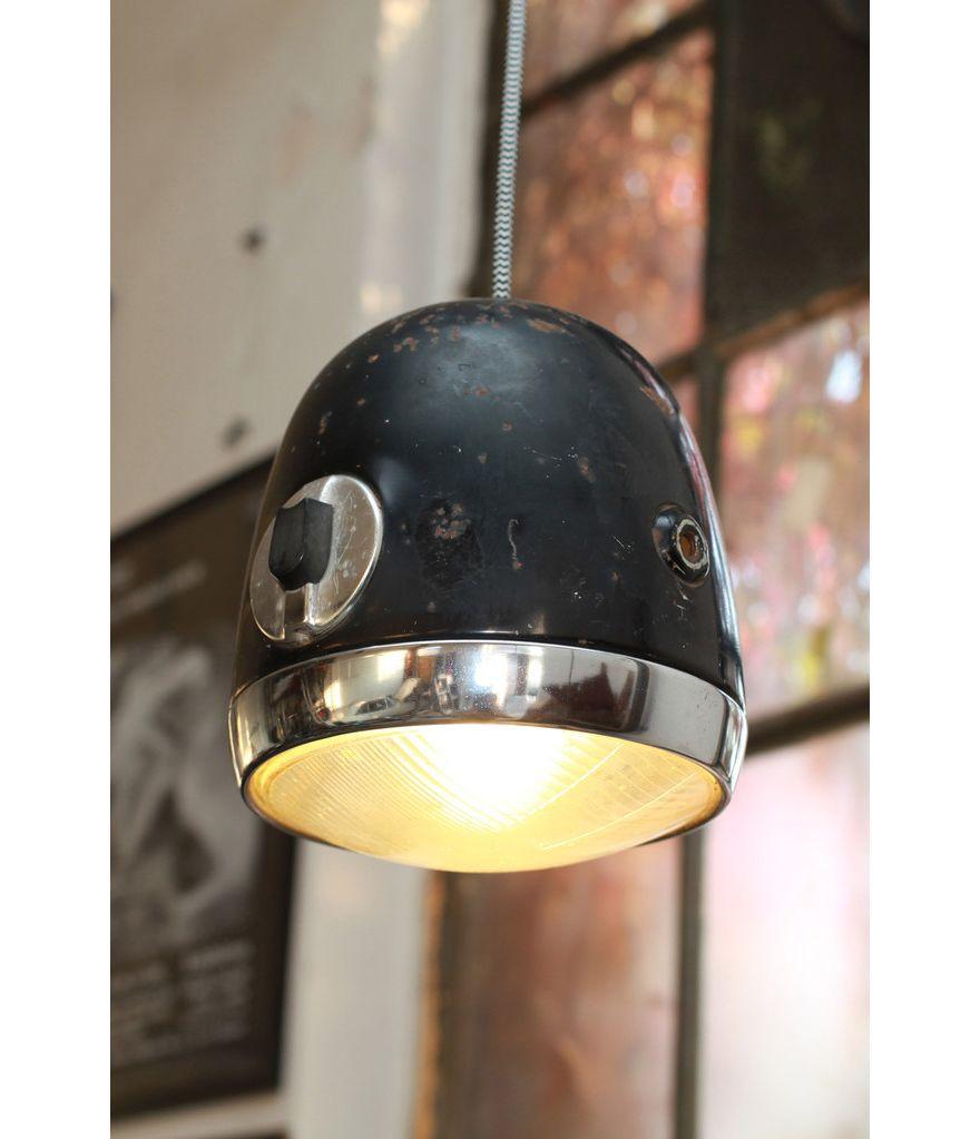 Vintage Looking Lighting Repurposing Old Headlights Into Lamps