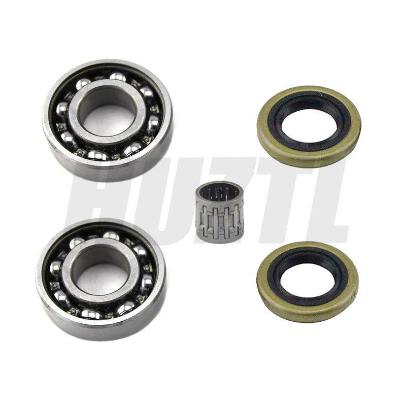 Crankshaft Piston Needle Bearing Oil Seal For Husqvarna 359 357 357XP Chainsaw