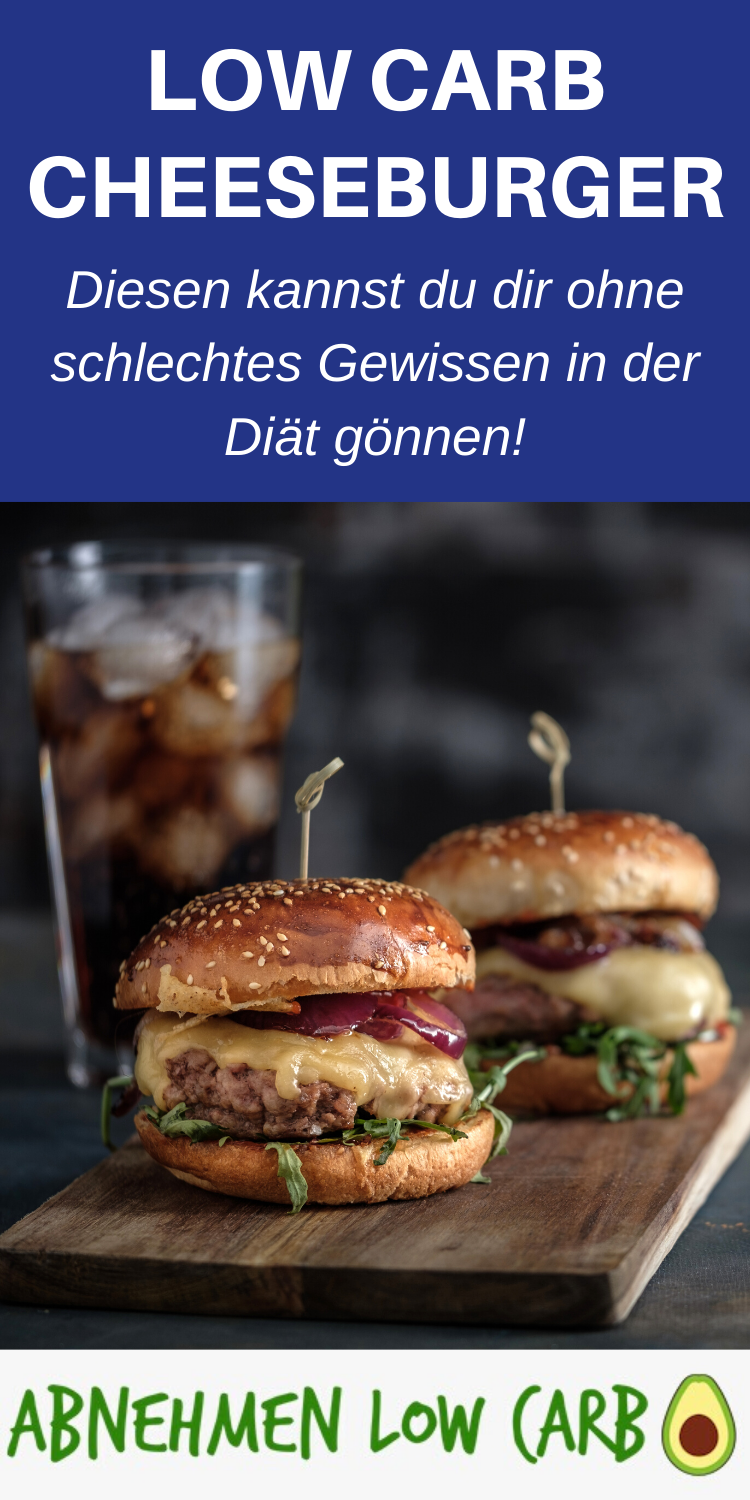 Low Carb Cheeseburger - Abnehmen Low Carb