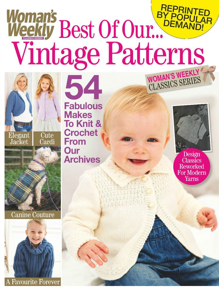 Woman\'s Weekly Vintage View Issue 10 2015 | knitting | Pinterest ...