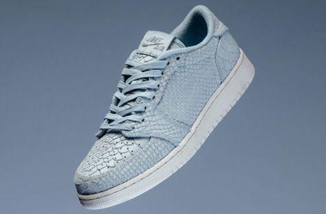 25f4afdd0697 Release Date  Air Jordan 1 Low Swooshless Ice Blue