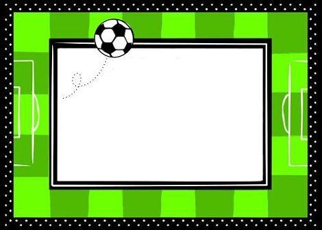 Invitaciones De Futbol Para Cumpleaños Invitaciones De