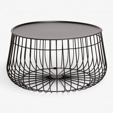 Black Wire Storage Coffee Table Wire Coffee Table Coffee Table