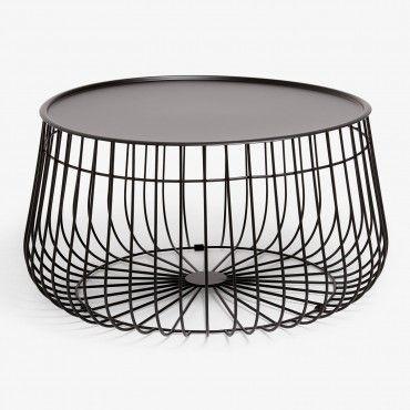 Black Wire Storage Coffee Table Studio 125 Pinterest Wire