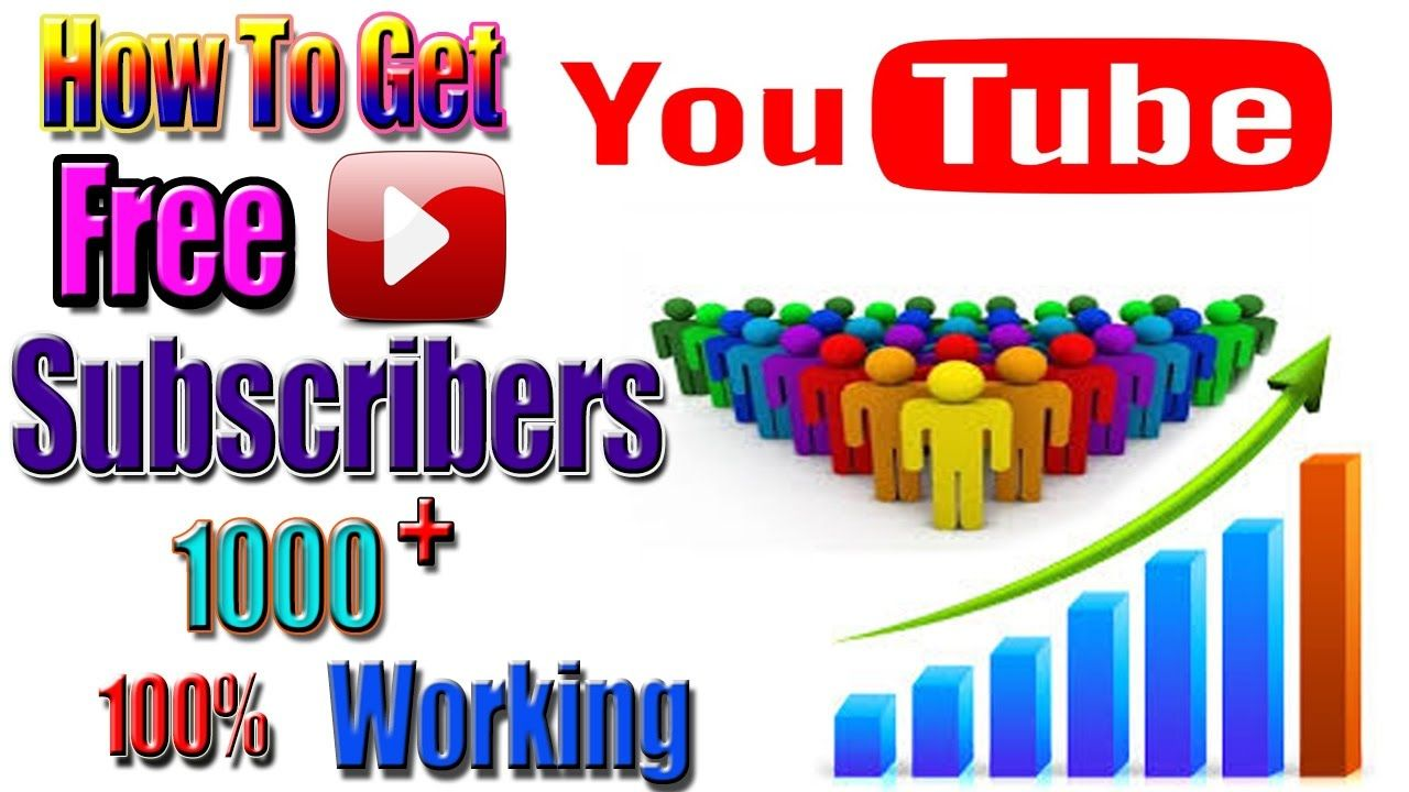 How To Get Subscribers free /Free Youtube Subscribers