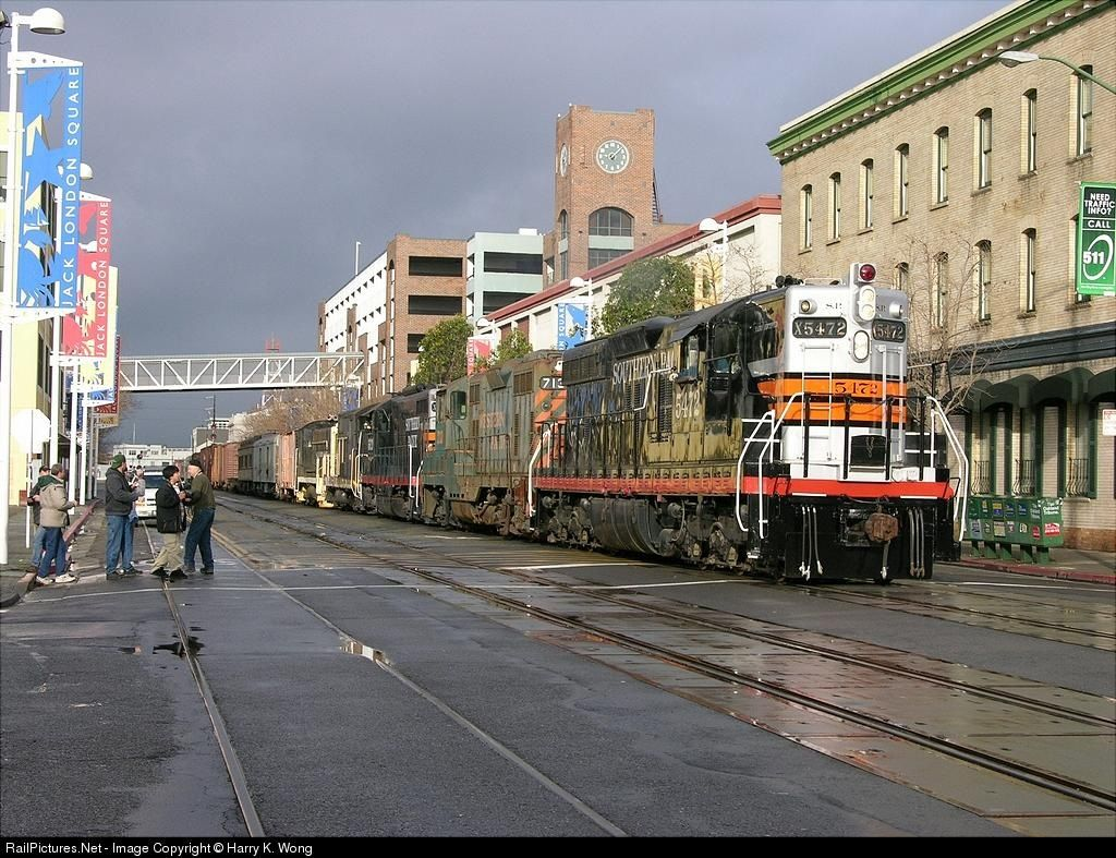 Railpicturesnet photo sp southern pacific railroad emd sd at
