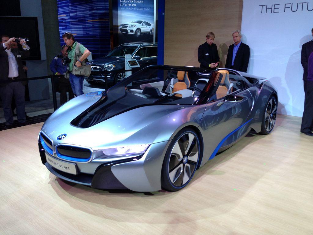 BMW i8 Concept Bmw i8, La auto show, Bmw