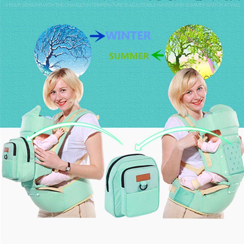 54.52 Newborn BabyToddler Carrier Sling Wrap Backpack
