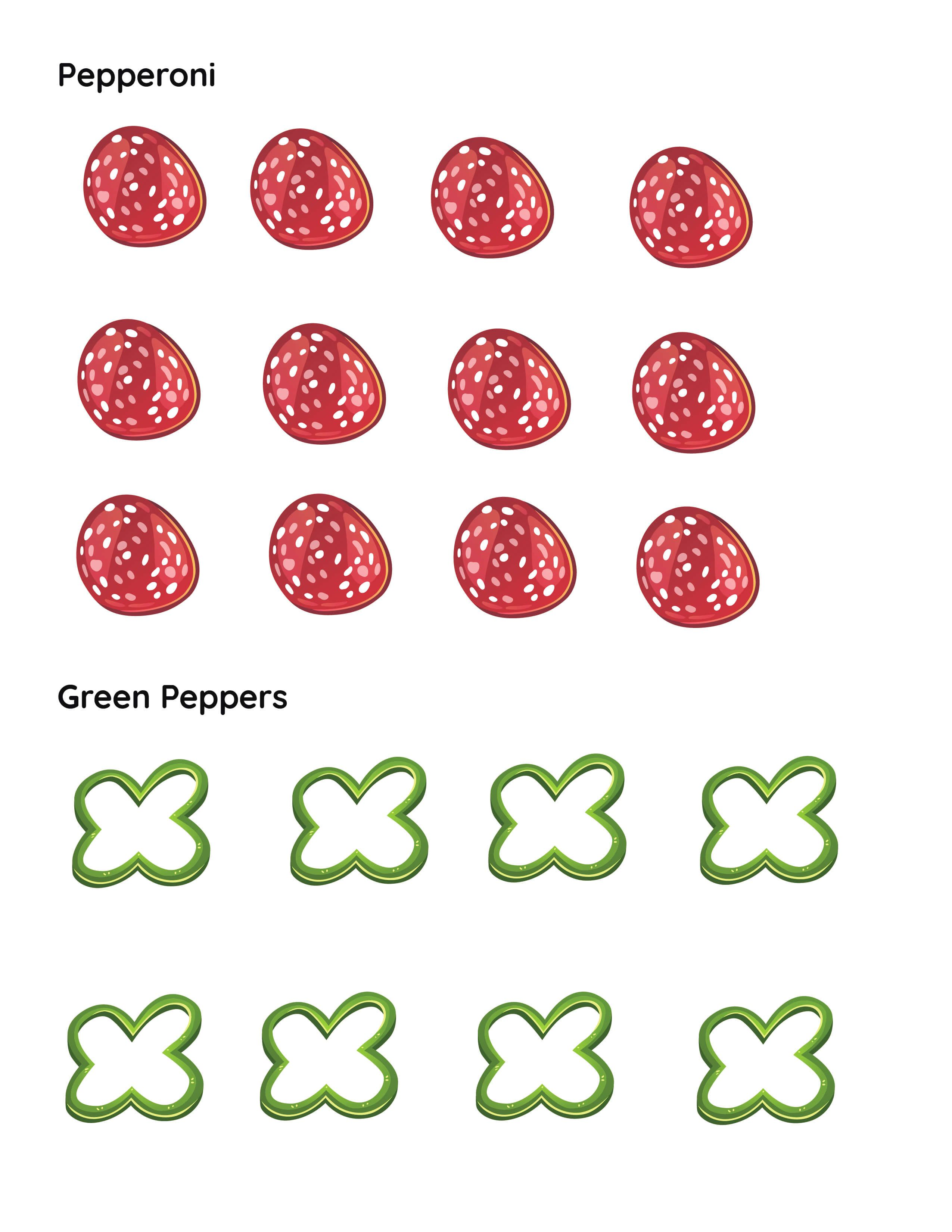 Make a Pizza Printable Cutouts in 2020 How to make