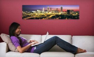 Panoramic Wall Mural - Larger Than Life $35 on Groupon at dealsplus.com! Make any plain wall artsy!