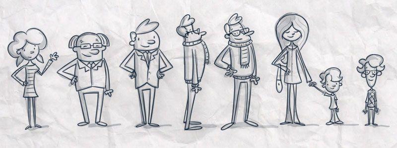 3d Character Design Website : Animation studio d