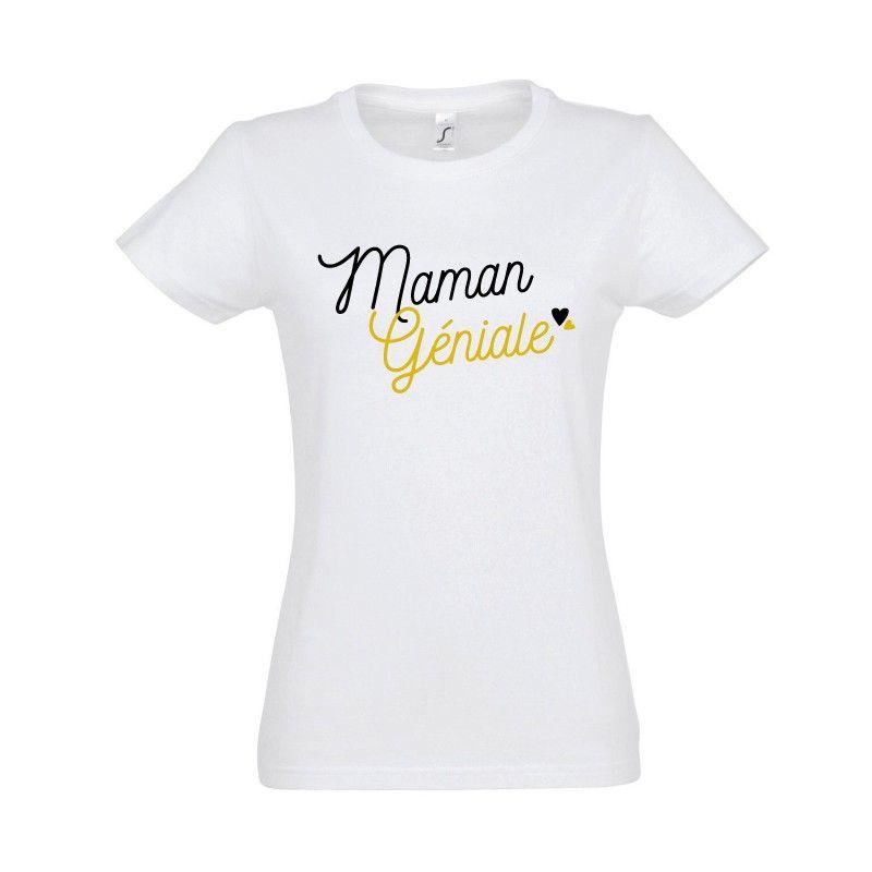 Tshirt Maman Géniale Vêtements drôles, T shirt et
