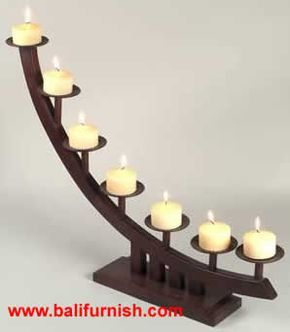 candle stick holder | Wooden Candle Holders Candle Stands