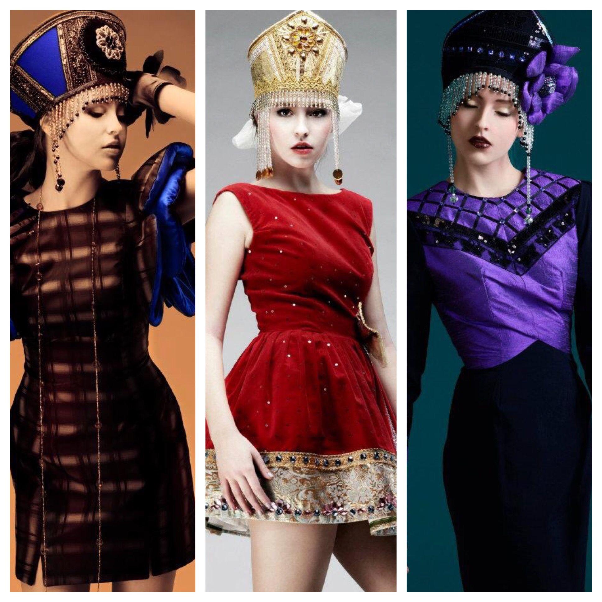 #hifashion #русскийдизайнер #kokoshnik #платьеврусскомстиле #русскийстиль #высокаямода #fashion #russianstyle  #неделямоды #jenkasfashion