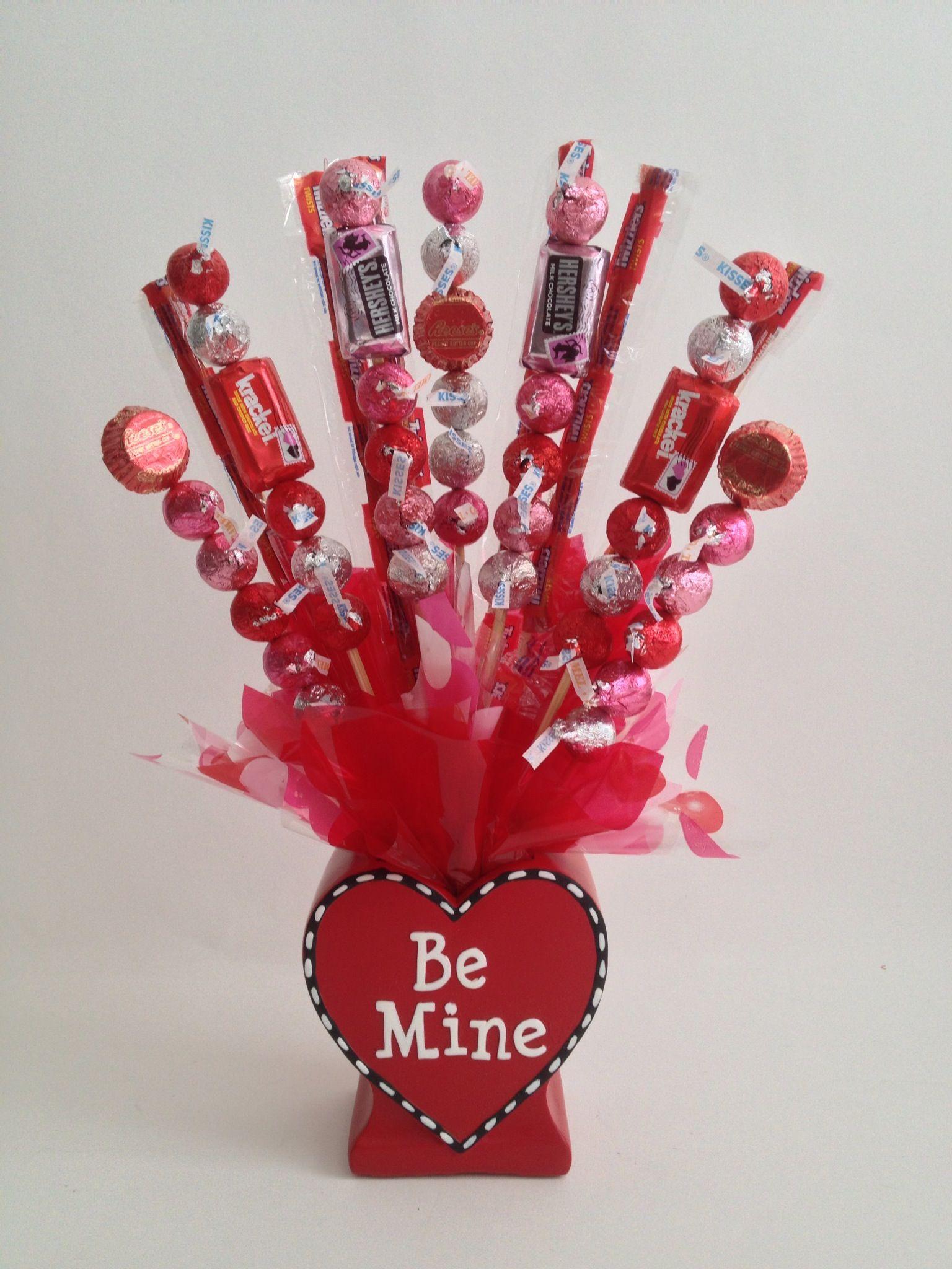 A Kiss Come True Valentine Gift Basket www.OhBowsGiftBaskets.com