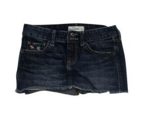 Abercrombie & Fitch Girls Denim Mini Skirt size 10 | Conquer ...