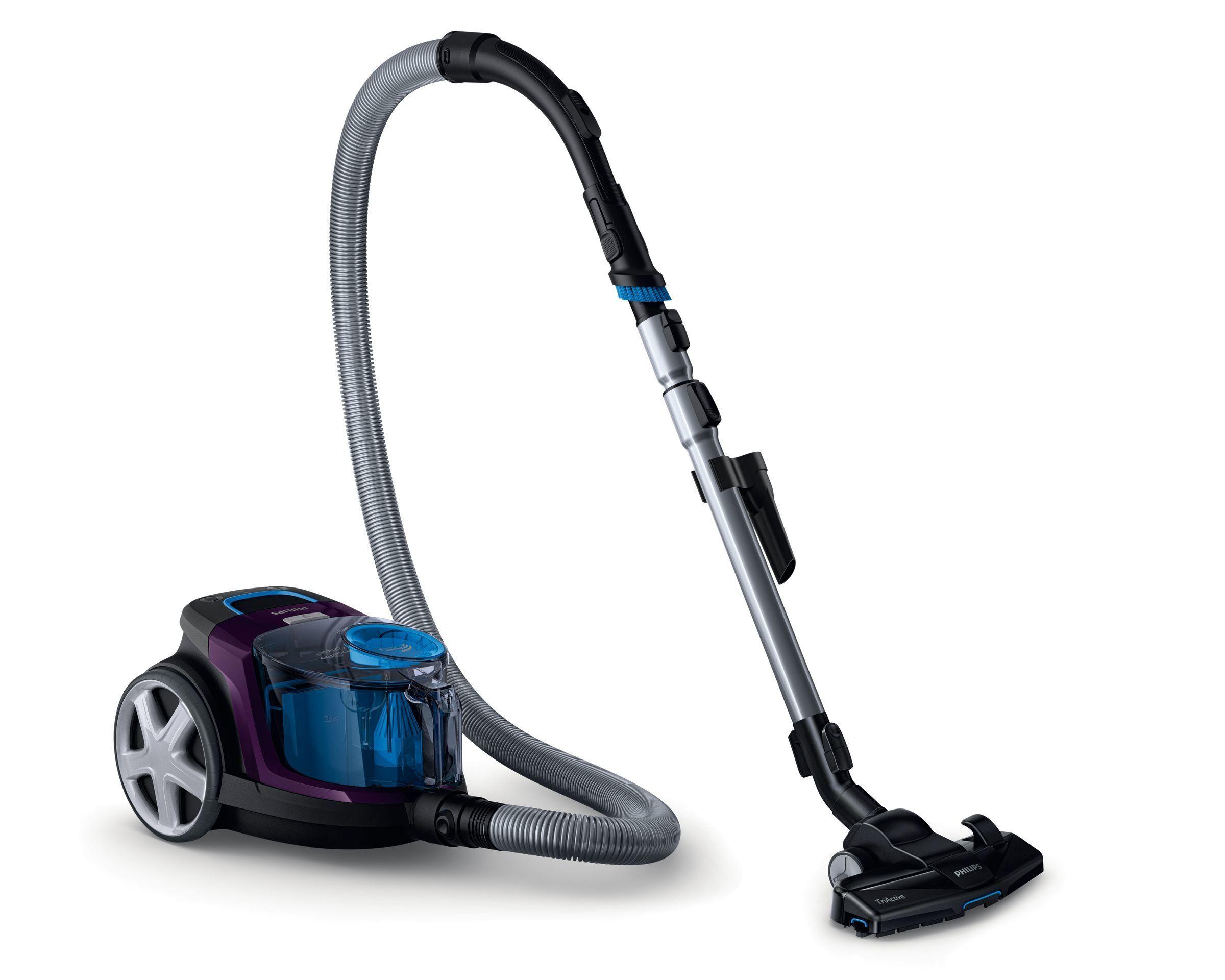 Philips Beutelloser Staubsauger Fc9333 09 Bodenstaubsauger Kunststoff 1 5 Liters Schwarz Blau Grau Violett In 2020 Vacuum Cleaner Best Vacuum Stick Vacuum