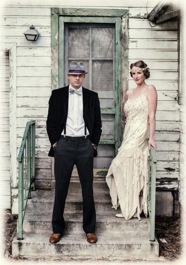 Art Deco Gatsby 1920s Wedding Inspiration 2159119 Wedding Dresses Vintage 20s Glamourous Wedding Dress Vintage Groom