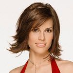 Rectangle Face Hillary Swank Oval Face Hairstyles Face Shapes Thick Hair Styles