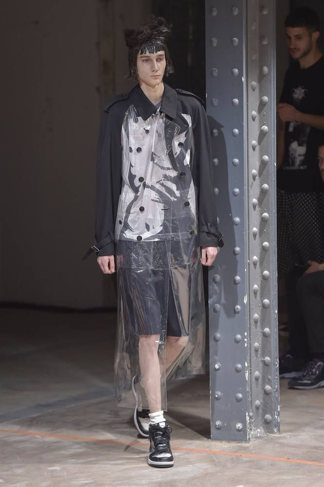 Comme des Garcons Homme Plus Spring-Summer 2017 - Paris Fashion Week #PFW