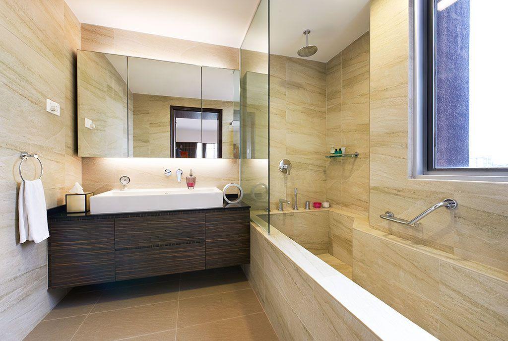 Toilet And Bathroom Designs Condo Interior Design Portfolio  Ue Square Condo  Unimax