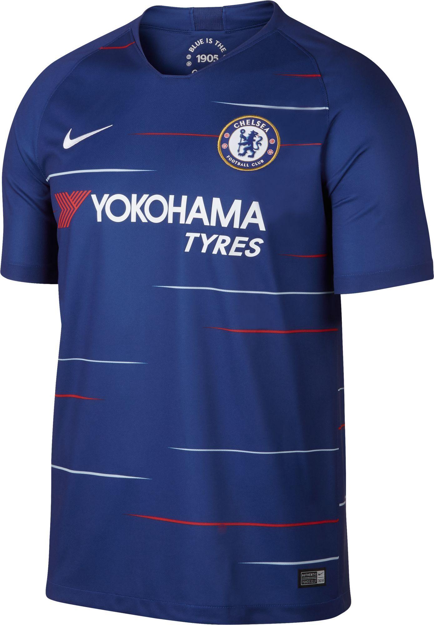 c7189da2c70c Nike Men s Chelsea 2018 Breathe Stadium Home Replica Jersey