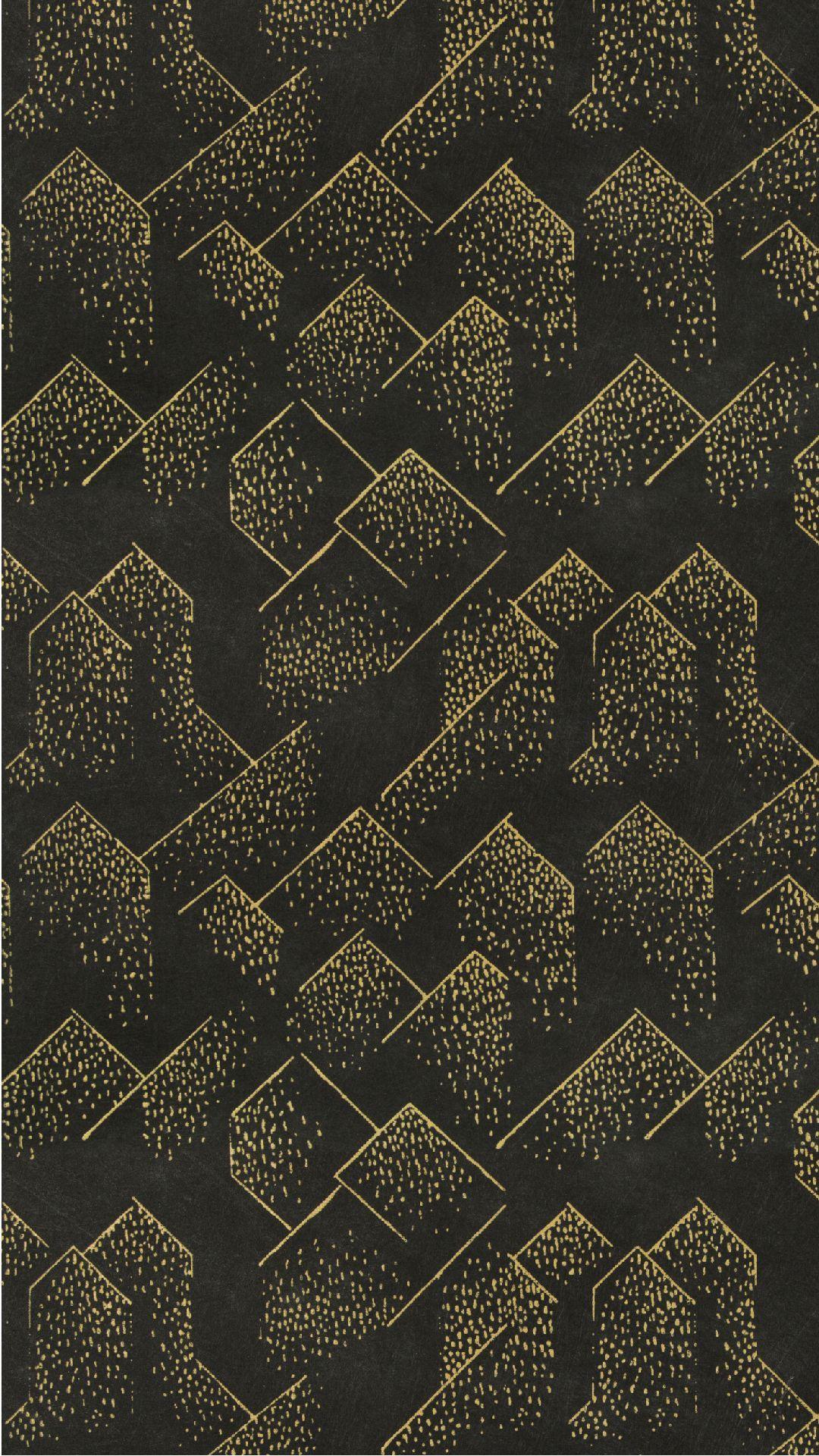 Geometric Navy Wallpaper Iphone in 2020 Navy wallpaper