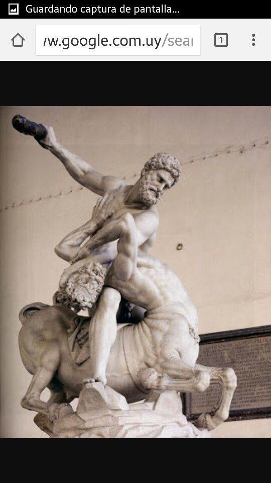 Hercules y el centauro