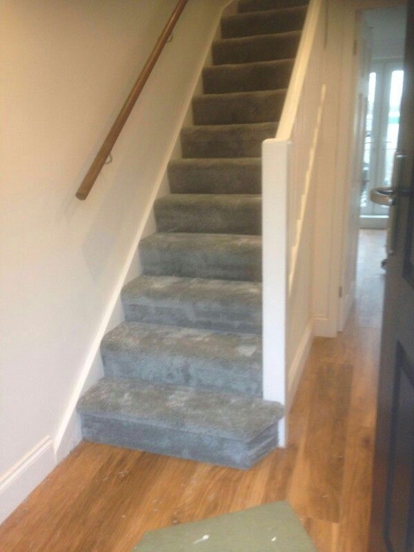 Grey Carpet On Stairs Wooden Floor In Hall Grey Stairs Carpet In