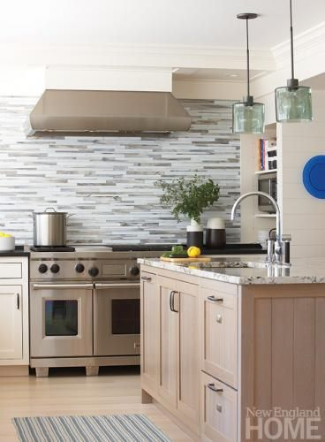 A Light And Airy Kitchen Is Perfect For Casual Entertaining