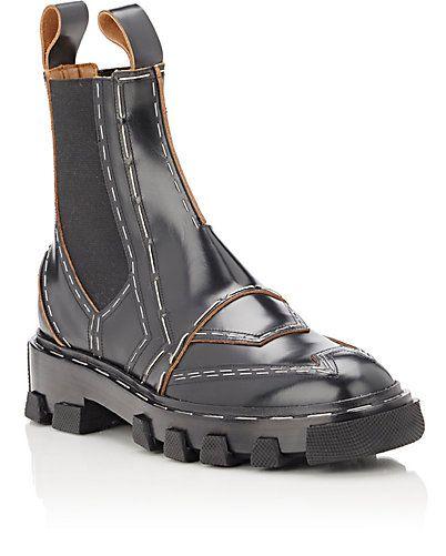 Balenciaga Topstitched Chelsea Boots at
