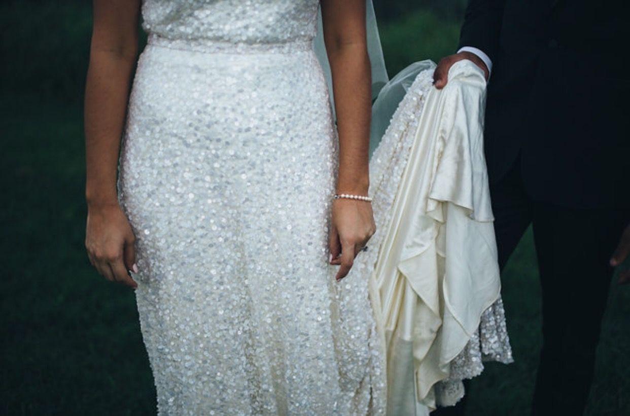 Picturesque Tweed Hinterland Wedding. Karen Willis Holmes sequin ...