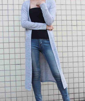 Plus Size Coat Women's Long Cardigan Sweater | Long cardigan ...