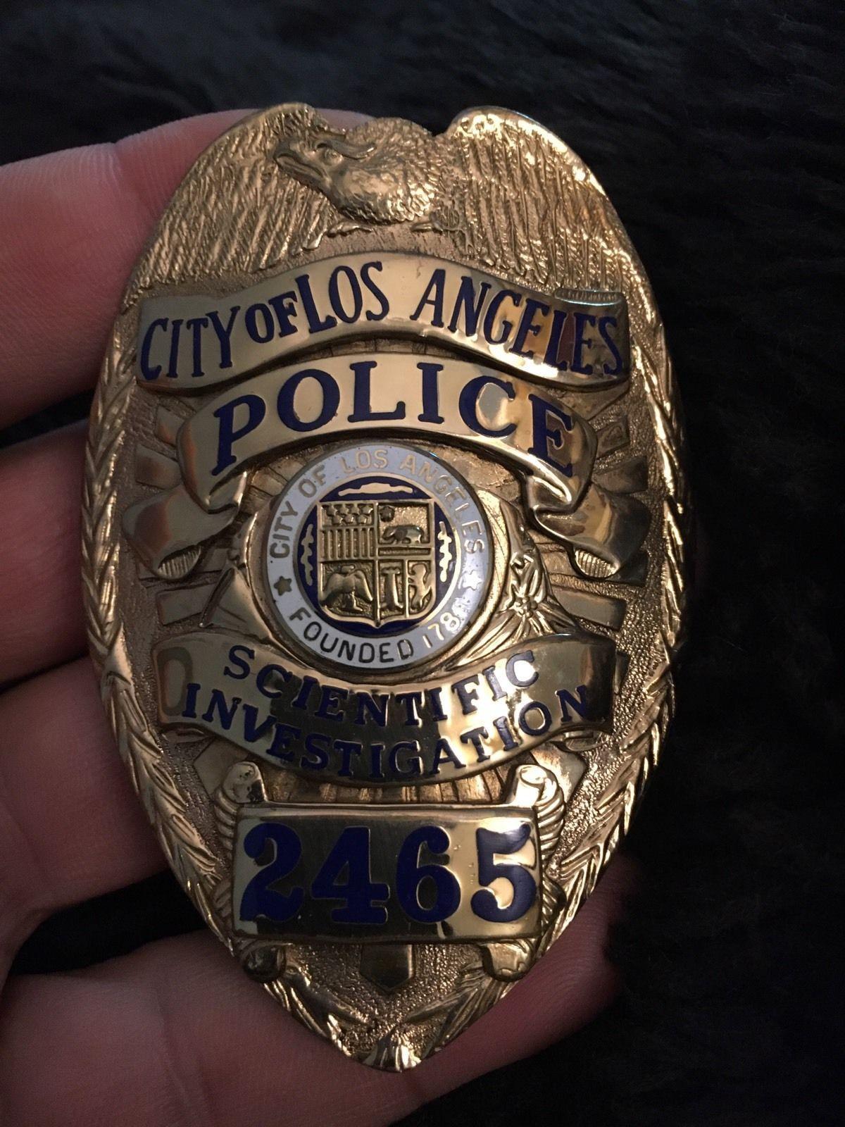 Los Angles Police Scientific Investigation