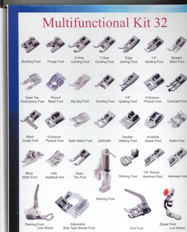 Kenmore Sewing Machine Feet : kenmore, sewing, machine, Brother, Sewing, Machine, Ideas, Feet,, Machines