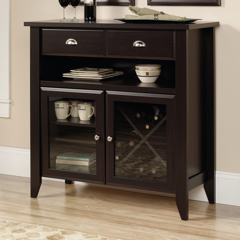 Best Sauder Shoal Creek Sideboard Storage Cabinet Living Room 400 x 300