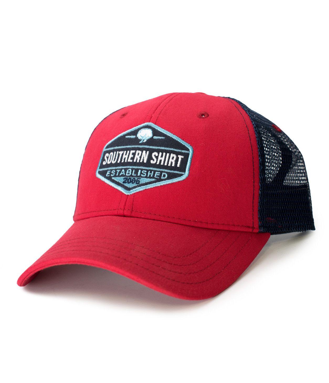 f4123b53ab1 Trademark Badge Mesh Hat. Trademark Badge Mesh Hat Southern Shirt