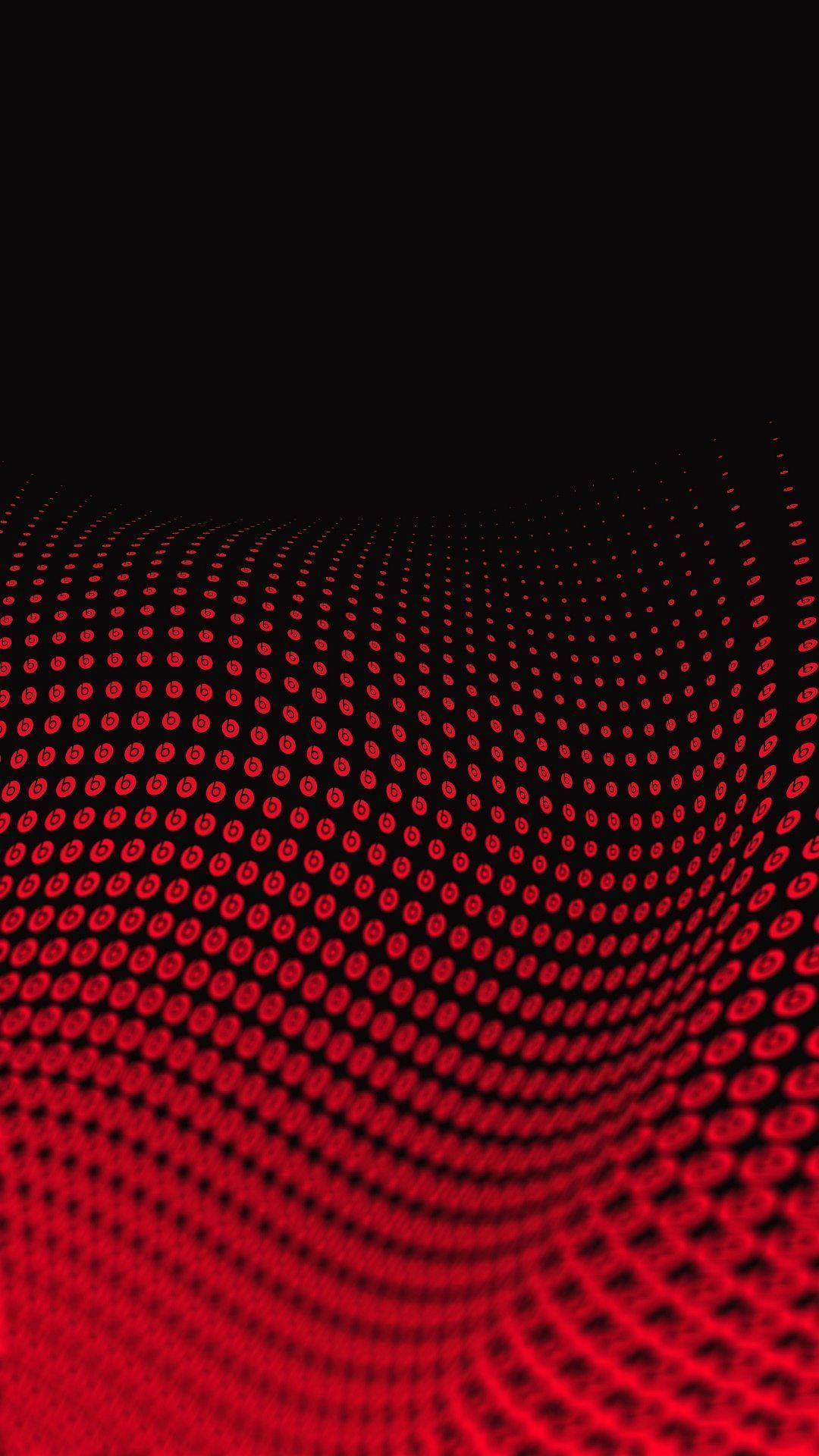Hd wallpaper 1080x1920 - Wallpaper Full Hd 1080 X 1920 Smartphone Red Wave 3d Abstract