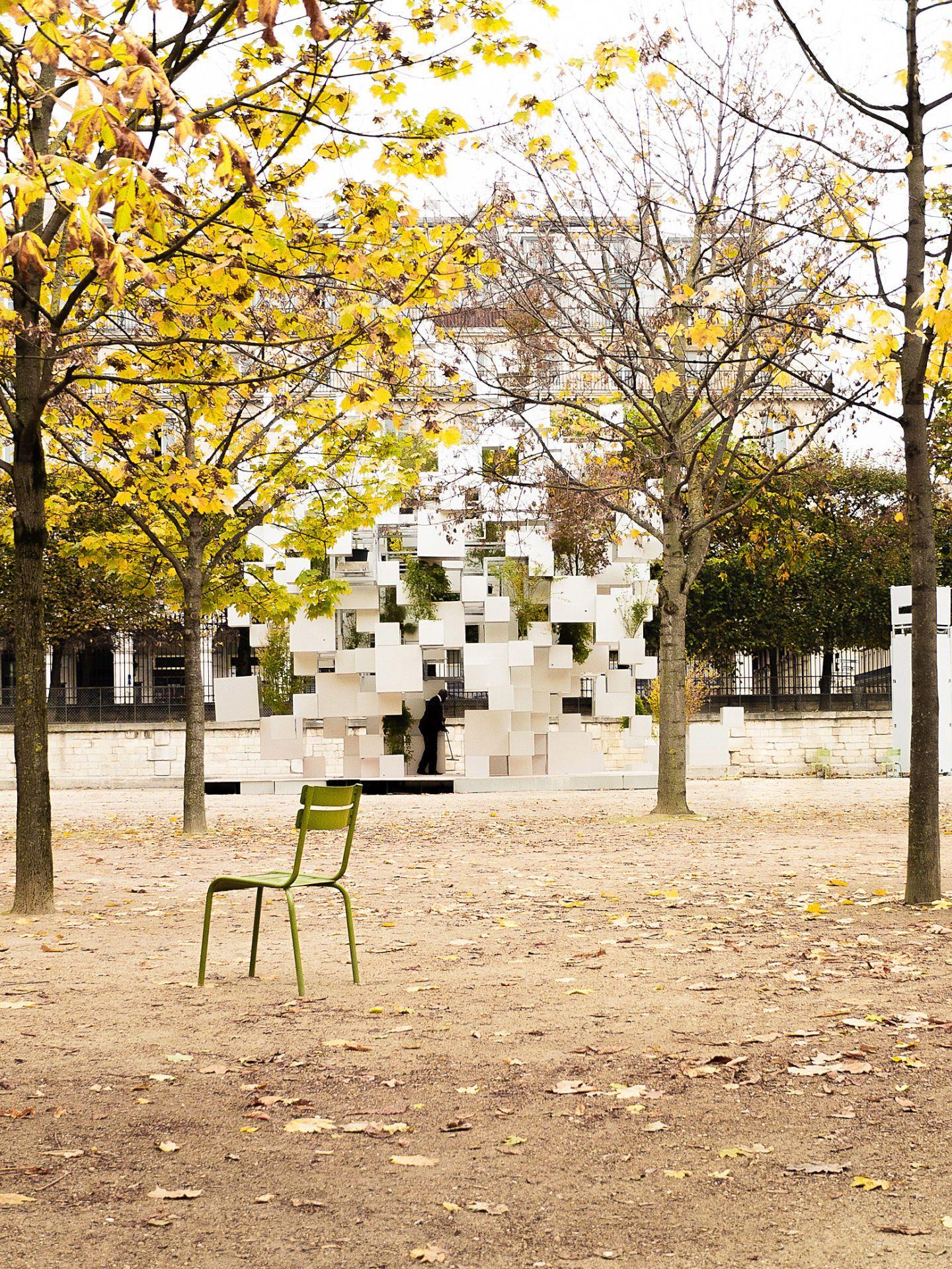 Installation in Paris Jardins des Tuileries