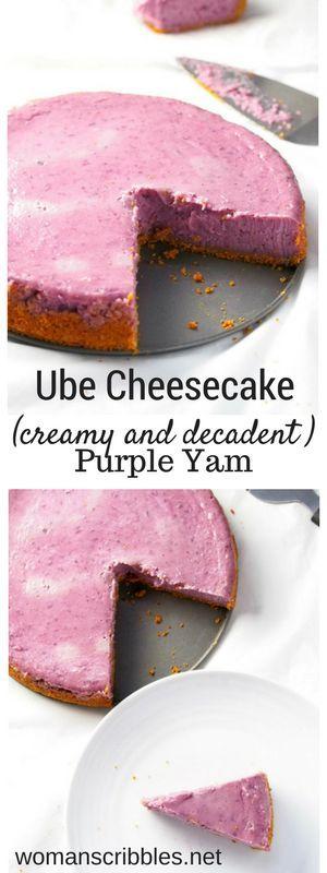 Ube Cheesecake Recipe Ube Cheesecake Recipe Filipino