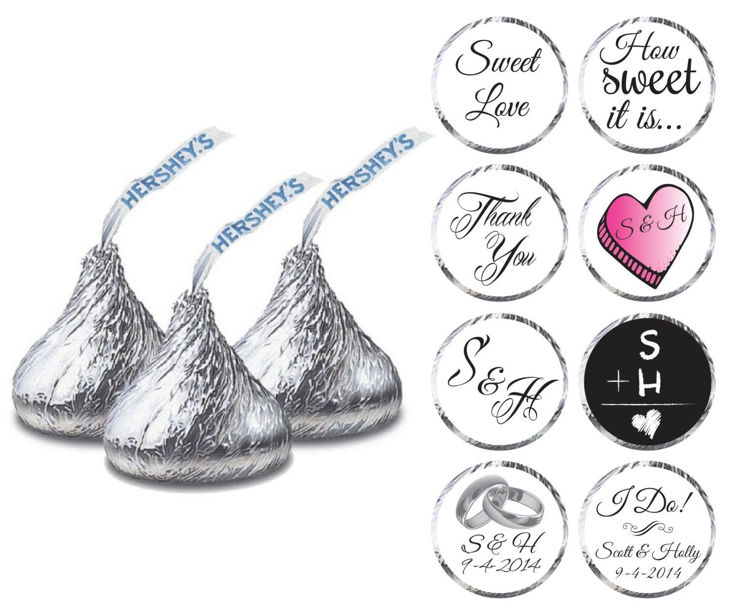 Looking to personalize your wedding favors? Add that sweet extra ...